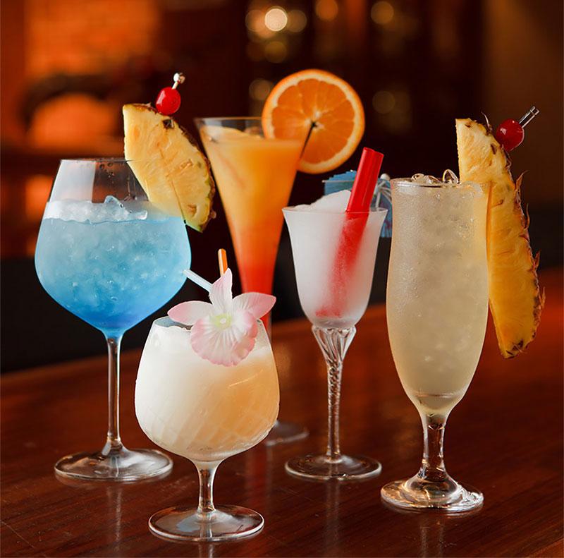 飲物のメニュー